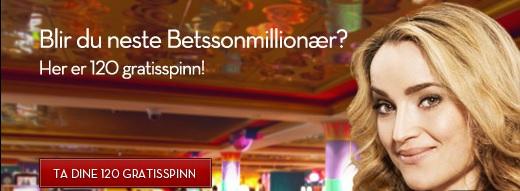 Betsson Free spins 27 Mai
