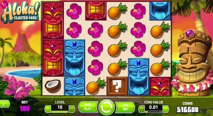 Aloha Cluster Pays gratis spilleautomat