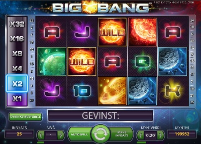 Gratis spinn 23 Januar 2014 big bang netent