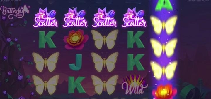 Butterfly Staxx – Ny NetEnt spilleautomat