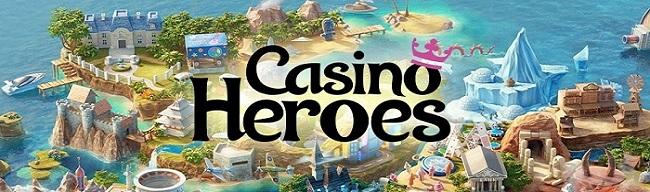Få gratis spinn på Casino Heroes 2018