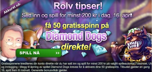 Free spins 16 April 2013 Spilleautomater
