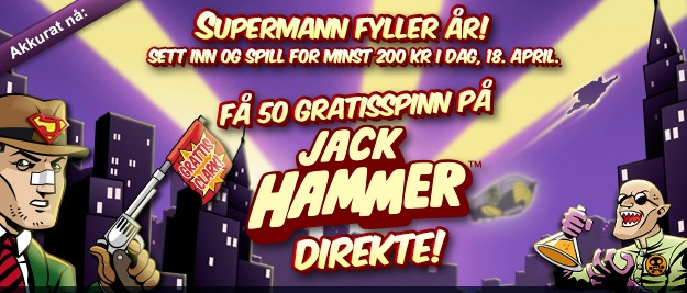 Free spins 16 April 2013 Spilleautomater