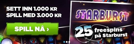 Norskeautomater Free spins 18 oktober 2013