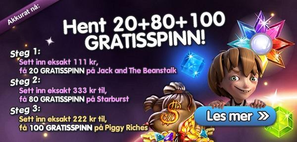 Free spins 18 september 2015