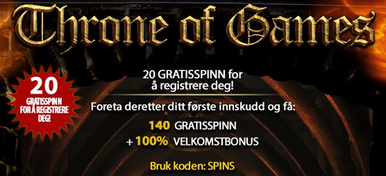 Free spins 20 August 2014
