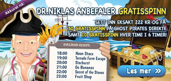 Free spins 21 august 2015