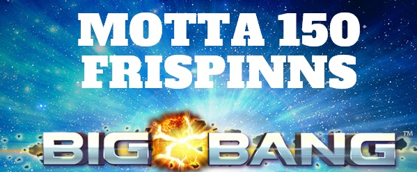 Gratis spinn 24 Januar 2014 big bang netent
