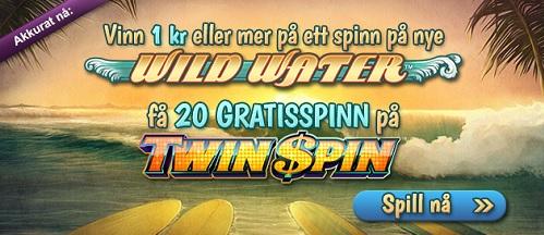 Free Spins 25 Mars 2014 Wild Water