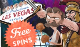Free spins 26 august 2013