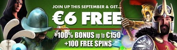 Free spins 3 September 2014