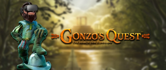 Ny spilleautomat – Gonzo`s Quest VR