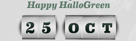 Gratis spinn 25 oktober 2013 på Mr Green