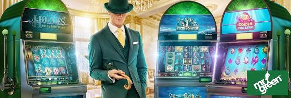 Mr Green casino innskuddsmetoder