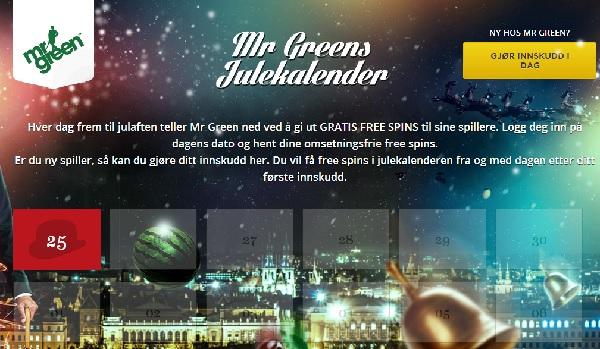 MrGreen Julekalender 2013