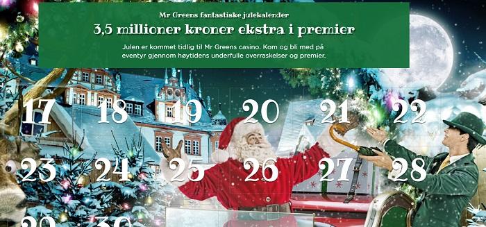 Mr Green julekalender 2016