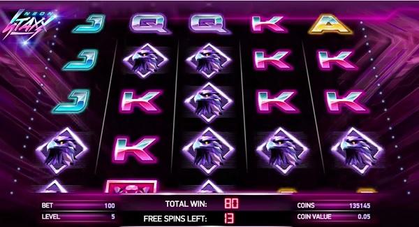 Neon Staxx slot fra NetEnt – prøv det gratis online