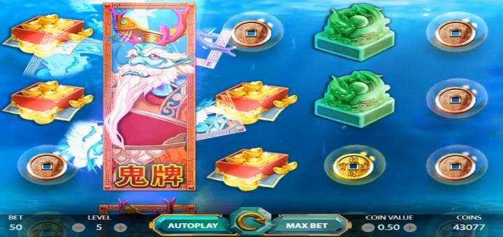 Nytt spill fra NetEnt - East Sea Dragon King!