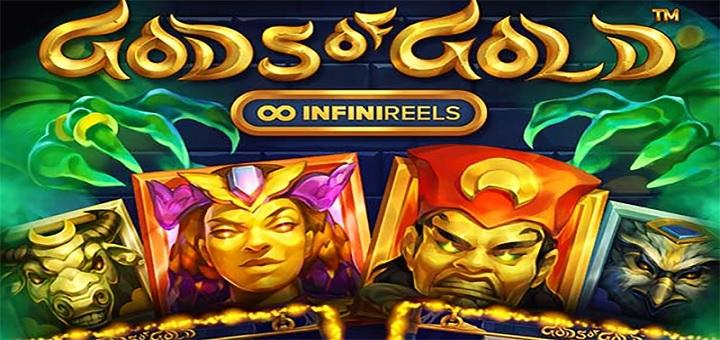 Spill det nyeste spillet fra NetEnt - Gods of Gold!
