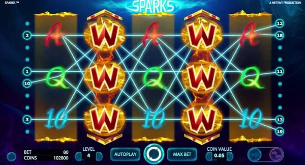 Sparks Spilleautomater