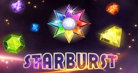 Top 10 - Starburst mest populära spelautomaterna 2019