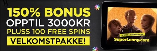 Casino bonus 2015 SuperLenny Spilleautomater