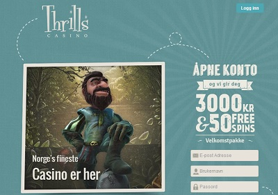 Thrills Casino - Logg inn pГҐ Thrills Casino