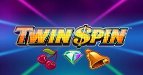 Twin Spin er en av åtte spilleautomater med en maksimal RTP i mai 2020