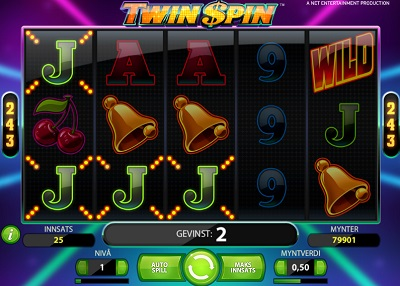 Twin Spin gratis spinn 18 november 2013