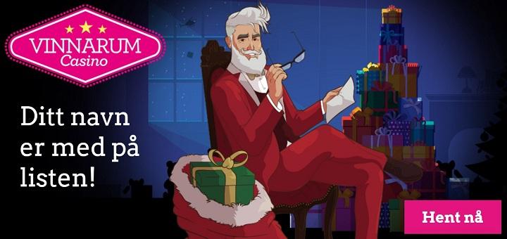 Casino Julekalender 1 desember 2016