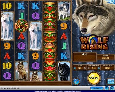 Wolf Rising Spilleautomat