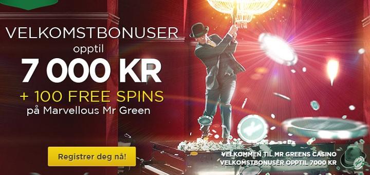 Mr Green bonus 2015
