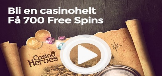 casino heroes 700 gratis spinn