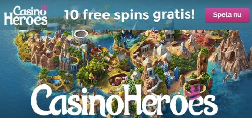 casinoheroes 10 freespins