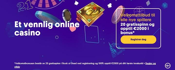 Casinobonuser november 2020